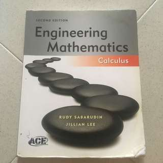 Engineering Maths: Calculus