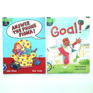 Ginn English Readers (Assorted) - 2 Books