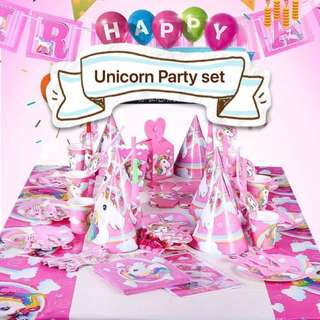 PO Unicorn Party Set