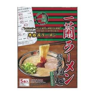 Ichiran Ramen Instant Noodles (Pack of 5)