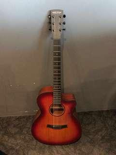 Sunburst Higher Ground model Acoustic Guitar w/o bag