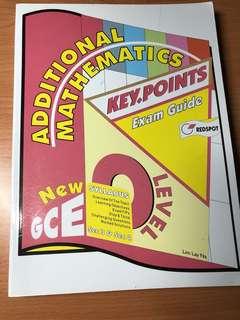 Additional Mathematics Key points Exam Guide O Levels