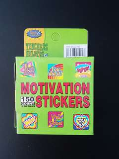 [INSTOCK] BN Motivational Stickers (150 stickers)