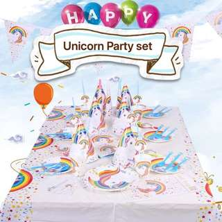 PO Unicorn Party Set