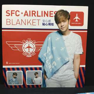 Showlo merchandise SFC airlines blanket 會員限定