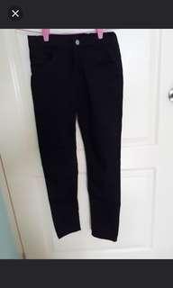 (11-12yrs) H&M girl's black pants