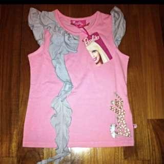 Mattel Barbie Sweet Pink Frilly girl blouse