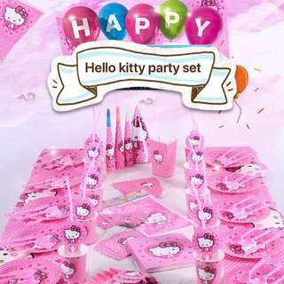 PO Hello Kitty Party Set