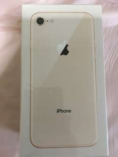 Brand New iPhone 8, Gold 64GB