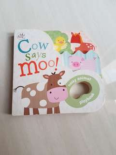 Cow says moo!