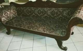 Jual kursi panjang ukiran antik dari kayu jati