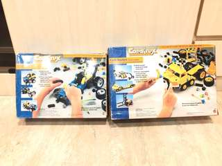 BNIB Construx Action Building System Rugged Racers/Earth Haulers