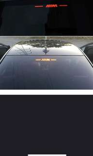BMW brake light sticker car styling