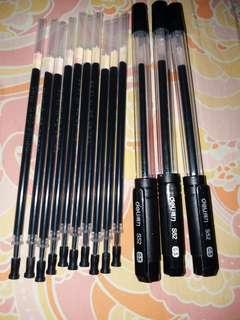 0.5黑色水筆連筆芯