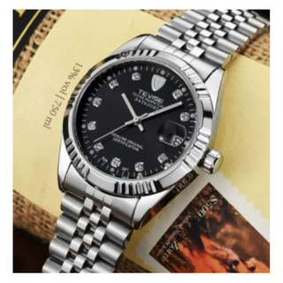 🚚 tevise watch auto mechanical (fresh from hk)