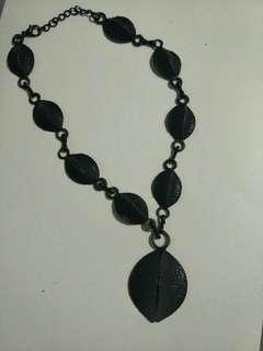 Statement designer necklace