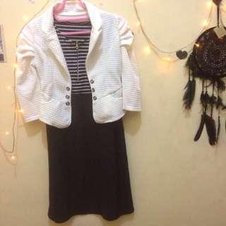 Gratis Ongkir!! Take All Dress Dan Blazernya
