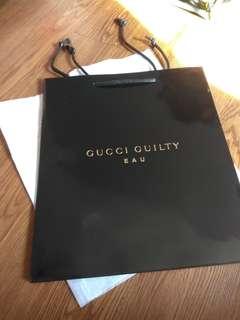 Gucci Guilty Hi Quality Paper Bag (5pcs)