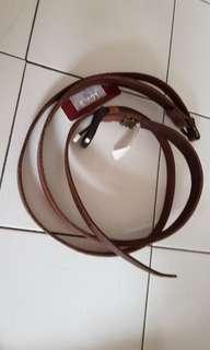 Levi's genuine leather long belt (women)