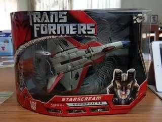 Transformers Movie Voyager Starscream G1 Deco BIB