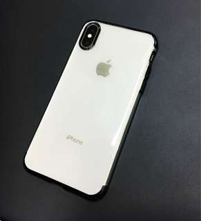 Iphone X shock-proof clear silicone case
