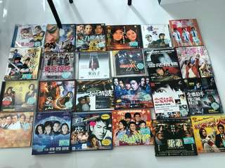 71 classic hongkong/chinese movies VCD, including rare titles