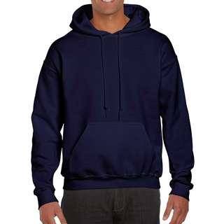 Gildan Heavy Blend Navy Blue Pullover Hoodie