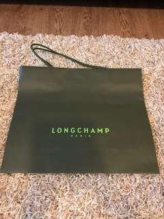 Longchamp paperbag