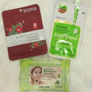 Korean beauty bundle- all for P220!