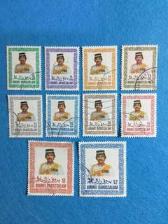 Brunei 1985 Definitives Short Set 10V