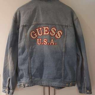 ASAP Rocky X Guess Denim Jacket Size L