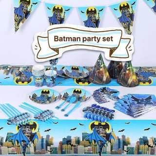 PO Batman Party Set