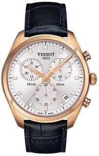 正品TISSOT全原瑞士天梭 PR100系列 T101 。多功能計時石英男錶,休閒商務必備,原裝Eta進口機芯,藍寶石玻璃,~41mm表徑,全新全套出[強]