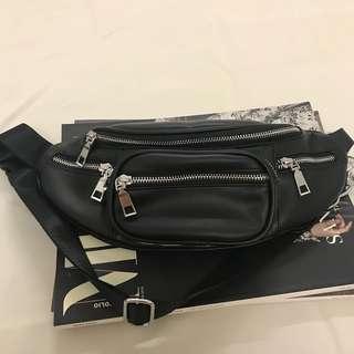 PU Leather Sling Bag