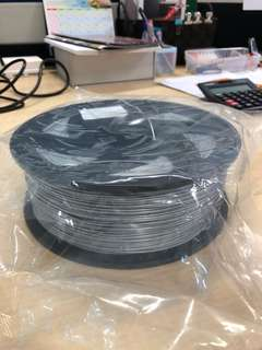 1.75mm ABS 3D Filament Silver Colour 1kg Spool Roll