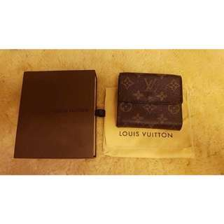 LV ELISE TRIFOLD WALLET With 6 Cards 2012
