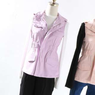 [INSTOCKS] Ladies Purple Vest