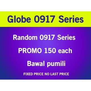 Globe Sim Card 0917