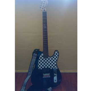 Telecaster Squier by fender: Signature electric guiter (Avril Lavigne)
