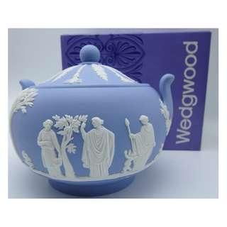 英國wedgwood 陶瓷罌 w/Box