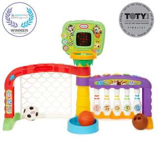 Little Tikes Light N' Go Sports 3-In-1 Sports Zone 643224