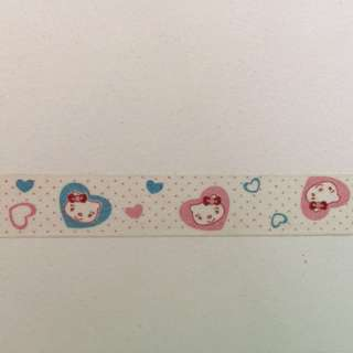 Kitty Washi Tape 15mm x 10m #GJ1