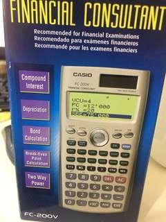 🚚 Casio財務計算機
