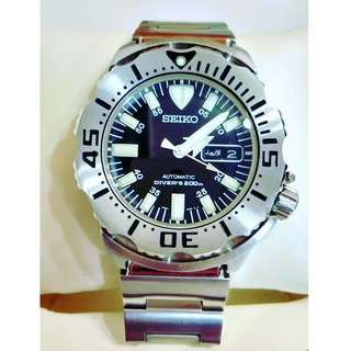 Seiko 200m Monster Automatic Diver's Watch