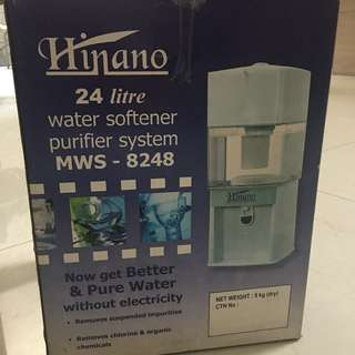 Hinano 24L Water Purifier / Mesin Penyaring Filter Air