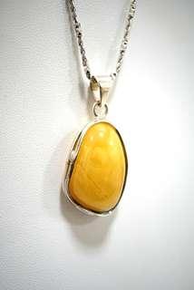 Genuine high grade amber pendant