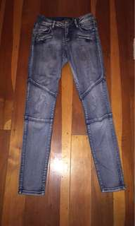 Size 8 Just Jeans Blue Skinny Jeans