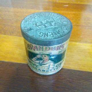 England Cavenders Navy Cut Cigarettes Tin Vintage