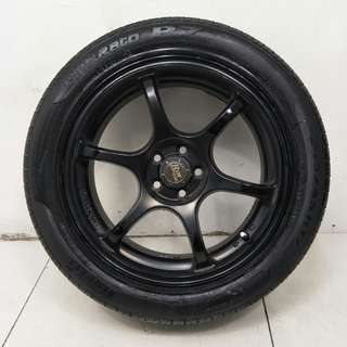 17 '' Sports Rim With Tyre 5x100 (SR1073)