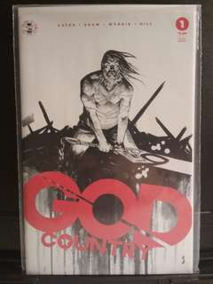 God Country 1 4th Print. New.